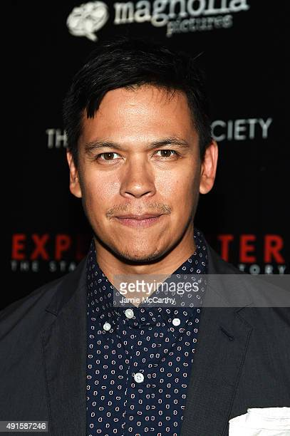 Actor Chaske Spencer attends The New York Film Festival Premiere Of Magnolia Pictures' Experimenter hosted by Montblanc The Cinema Society at PHD...