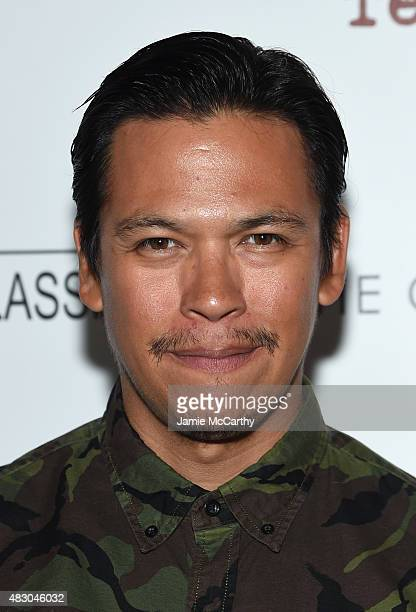 Actor Chaske Spencer attends the screening of Sony Pictures Classics The Diary Of A Teenage Girl hosted by The Cinema Society at Landmark Sunshine...