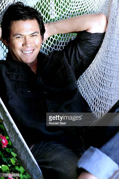 Actor Chaske Spencer is photographed for a Self Assignment on June 21 2011 in Santa Monica California
