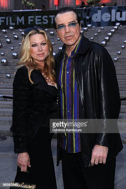 Actor Chazz Palminteri and Gianna Ranaudo attends the Vanity Fair Party during the 9th Annual Tribeca Film Festival at the New York State Supreme...