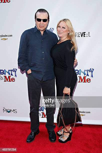 Actor Chazz Palminteri and wife actress Gianna Ranaudo aka Gianna Rains attend the 'Henry Me' New York Premiere at Ziegfeld Theatre on August 18 2014...