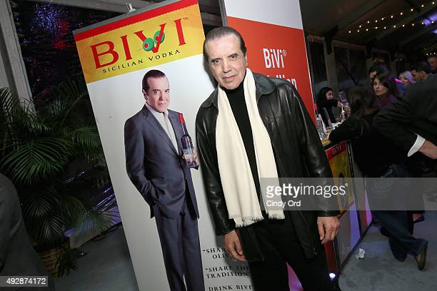 Actor Chazz Palminteri attends Giada De Laurentiis' Italian Feast presented by Ronzoni sponsored by The New York Post during Food Network & Cooking...