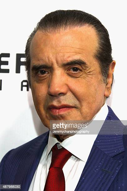 Actor Chazz Palminteri attends the Legend premiere during the 2015 Toronto International Film Festival held at Roy Thomson Hall on September 12 2015...