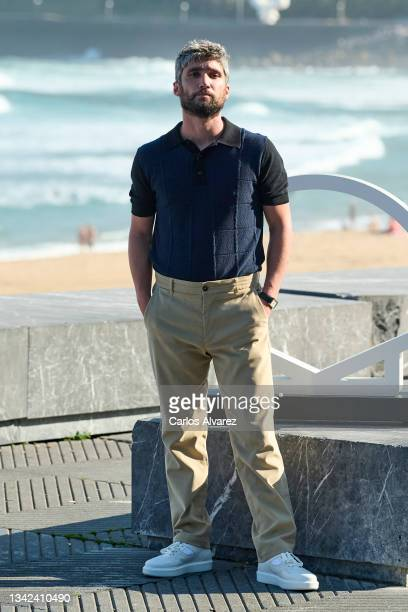 "Actor Chechu Salgado attends ""Las Leyes de La Frontera"" photocall during 69th San Sebastian International Film Festival at Kursaal Palace on..."
