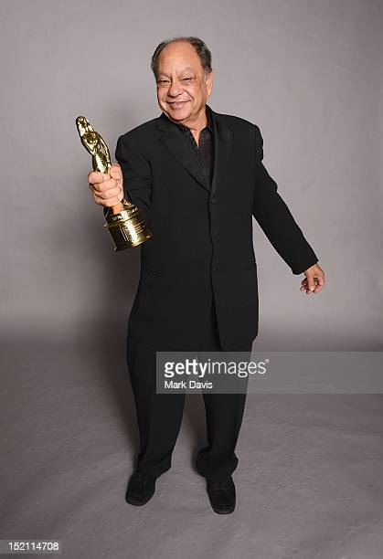 Actor Cheech Marin poses for a portrait during the 2012 NCLR ALMA Awards at Pasadena Civic Auditorium on September 16 2012 in Pasadena California