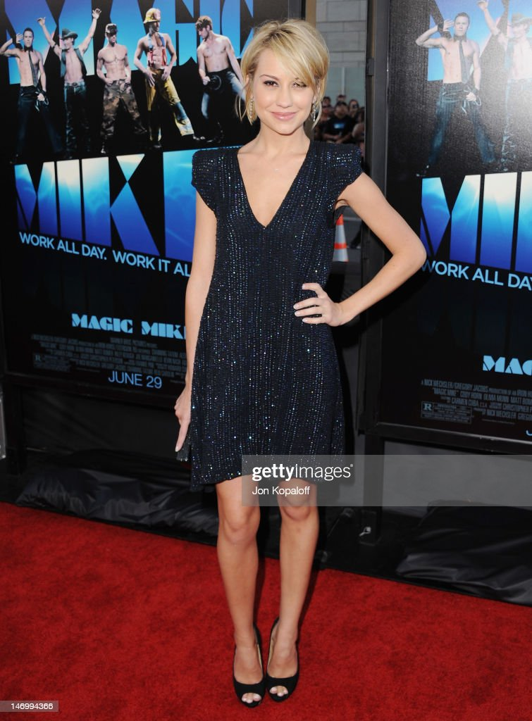 Actor Chelsea Kane arrives at the 'Magic Mike' Closing Night Premiere at the 2012 Los Angeles Film Festival at Regal Cinemas L.A. Live on June 24, 2012 in Los Angeles, California.