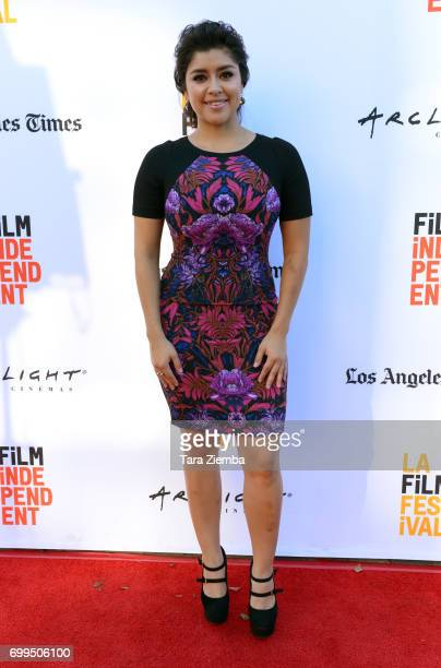 Actor Chelsea Rendon attends the screening of 'Episodes Indie Series from the Web' during the 2017 Los Angeles Film Festival at Arclight Cinemas...