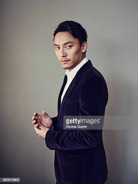 Actor Chen Chang is photographed on May 21 2015 in Cannes France