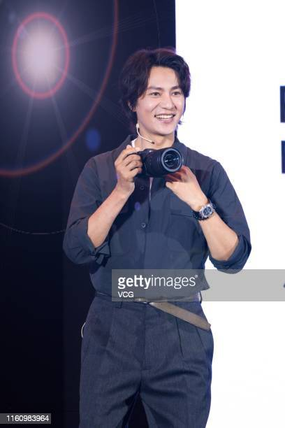 Actor Chen Kun attends Canon new products launch event on July 9 2019 in Shanghai China
