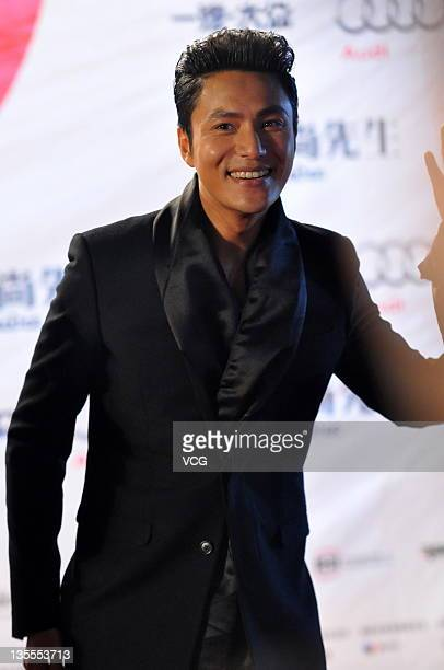 Actor Chen Kun attends Esquire Men of the Year 2011 Awards Ceremony at Tsinghua University on December 11 2011 in Beijing China