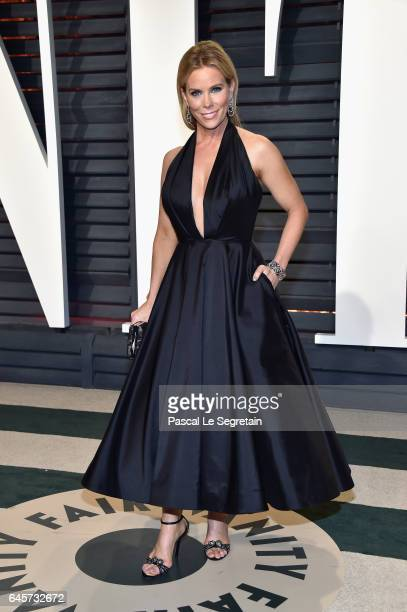 Actor Cheryl Hines attends the 2017 Vanity Fair Oscar Party hosted by Graydon Carter at Wallis Annenberg Center for the Performing Arts on February...