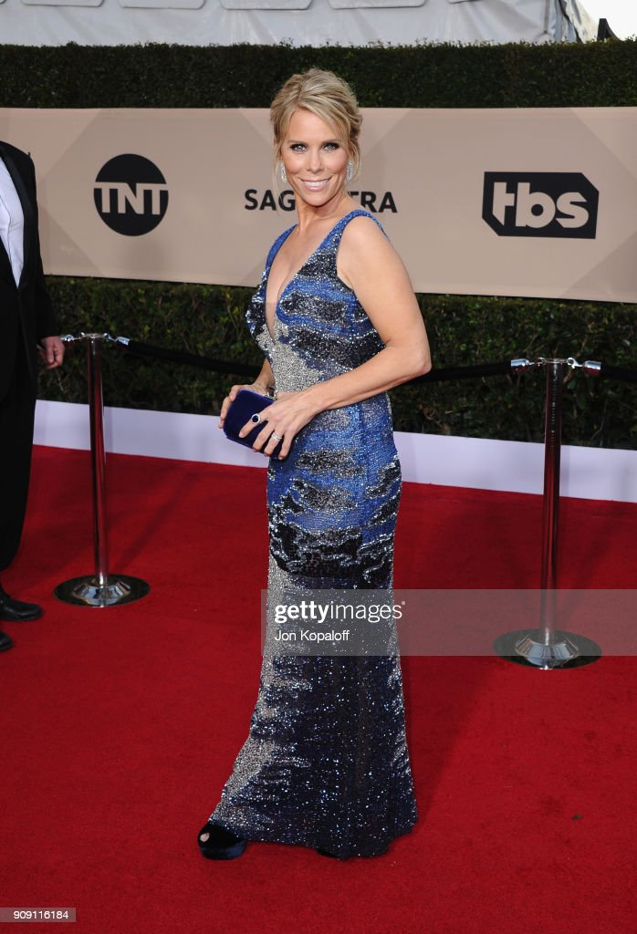 Actor Cheryl Hines attends the 24th Annual Screen Actors Guild Awards at The Shrine Auditorium on January 21, 2018 in Los Angeles, California.