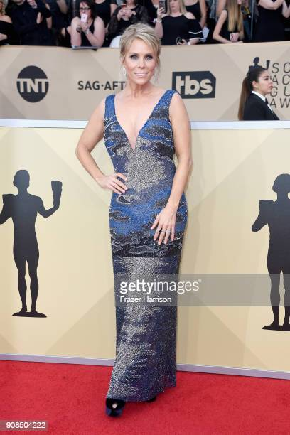 Actor Cheryl Hines attends the 24th Annual Screen ActorsGuild Awards at The Shrine Auditorium on January 21 2018 in Los Angeles California