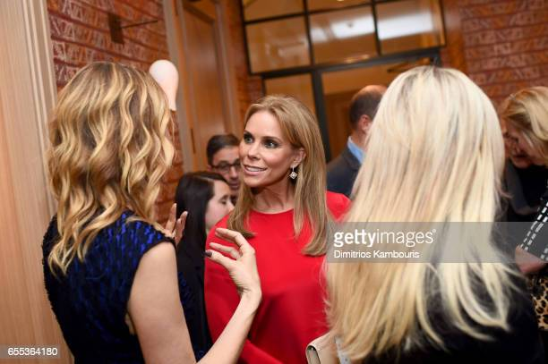 Actor Cheryl Hines attends the After Party for the 'Wilson' New York Screening at the Whitby Hotel on March 19 2017 in New York City