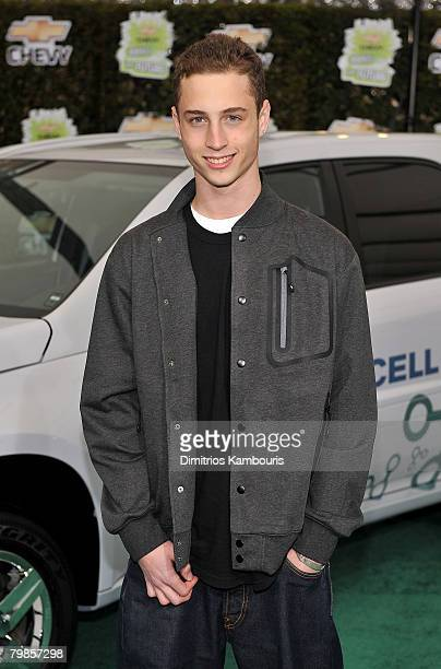 Actor Chet Hanks arrives at Chevy Rocks The Future at the Buena Vista Lot at The Walt Disney Studios on February 19 2008 in Burbank California