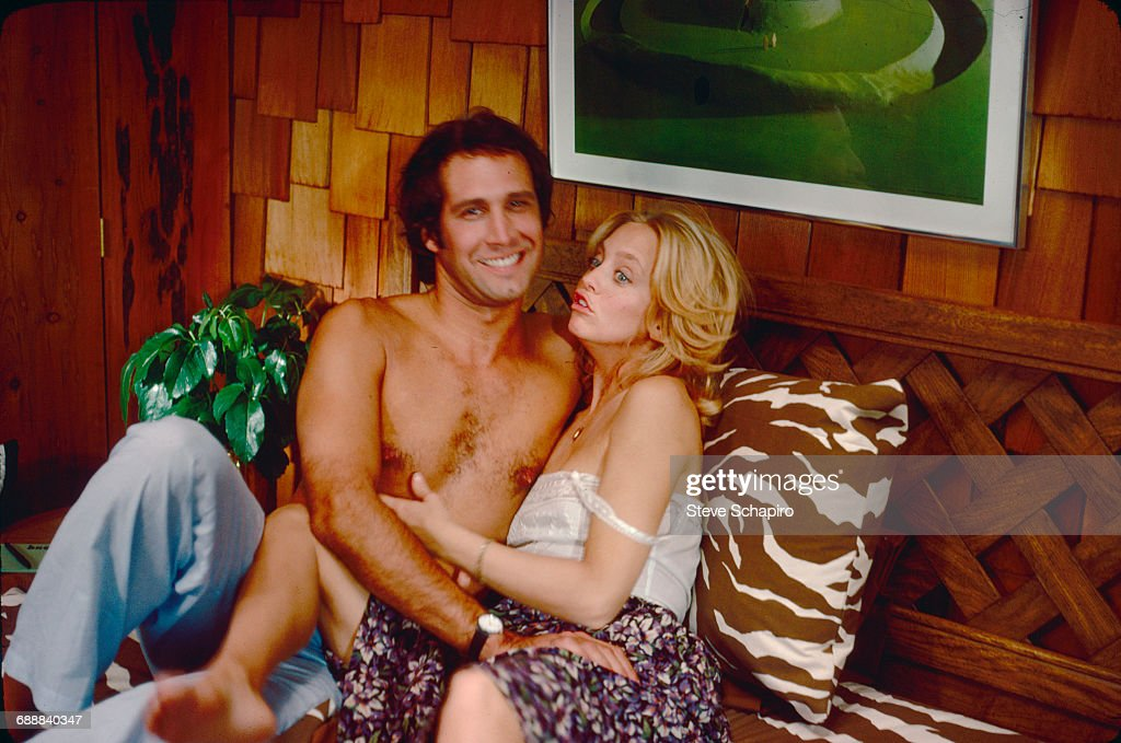 Chevy Chase And Goldie Hawn In 'Foul Play' : News Photo