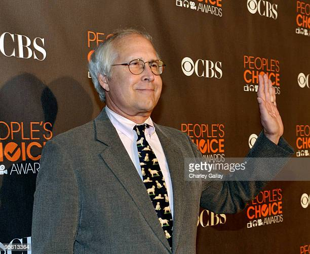 Actor Chevy Chase arrives at the People's Choice Awards 2010 held at Nokia Theatre LA Live on January 6 2010 in Los Angeles California