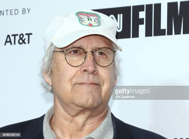 Actor Chevy Chase attends the 2018 Tribeca Film Festival opening night premiere of Love Gilda at Beacon Theatre on April 18 2018 in New York City