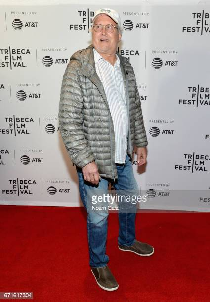 Actor Chevy Chase attends the 'Dog Years' Premiere during 2017 Tribeca Film Festival at Cinepolis Chelsea on April 22 2017 in New York City