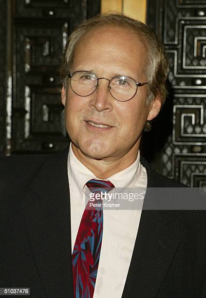 Actor Chevy Chase attends the John Kerry and John Edwards 2004 Victory Concert on July 8 2004 at Radio City Music Hall in New York City
