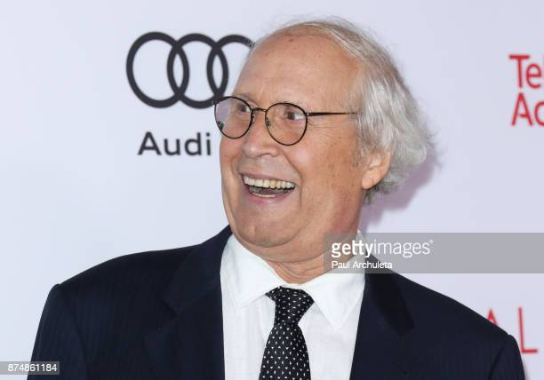 Actor Chevy Chase attends the Television Academy's 24th Hall Of Fame ceremony at The Saban Media Center on November 15 2017 in North Hollywood...