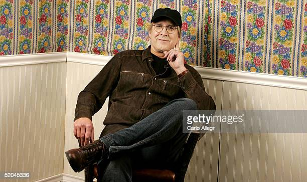 Actor Chevy Chase from the film Ellie Parker poses for portraits during the 2005 Sundance Film Festival January 21 2005 in Park City Utah