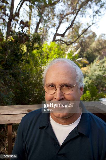 Actor Chevy Chase is photographer for the Los Angeles Times on October 12 2011 in Hollywood California PUBLISHED IMAGE CREDIT MUST READ Al Seib/Los...