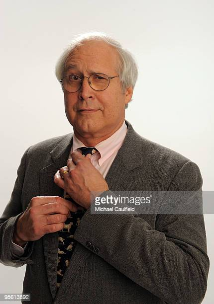 Actor Chevy Chase poses for a portrait during the People's Choice Awards 2010 held at Nokia Theatre LA Live on January 6 2010 in Los Angeles...