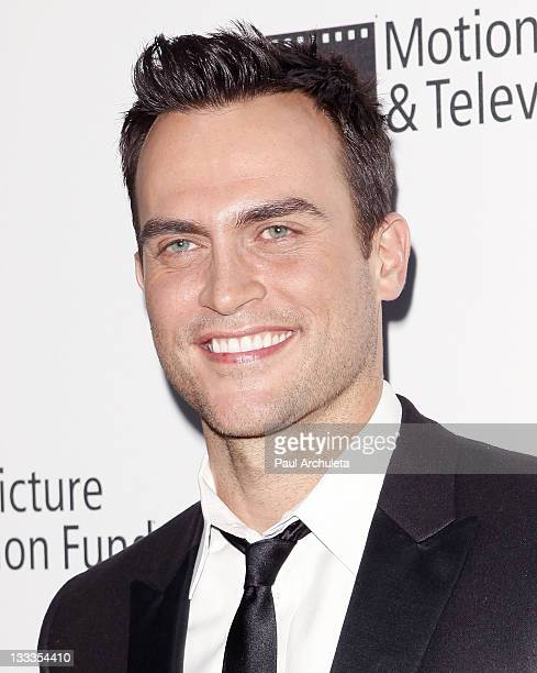 """Actor Cheyenne Jackson arrives at the 5th annual """"A Fine Romance"""" benefit at Fox Studio Lot on May 1, 2010 in Century City, California."""