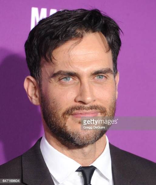 Actor Cheyenne Jackson arrives at the premiere of FX Network's 'Feud Bette And Joan' at Grauman's Chinese Theatre on March 1 2017 in Hollywood...