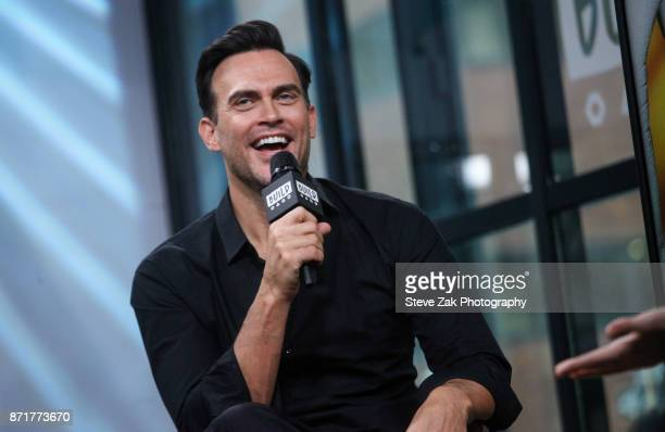 Actor Cheyenne Jackson attends Build Series to discuss 'American Horror Story' at Build Studio on November 8 2017 in New York City