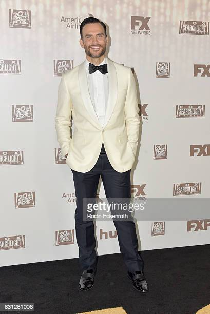Actor Cheyenne Jackson attends FOX and FX's 2017 Golden Globe Awards after party at The Beverly Hilton Hotel on January 8 2017 in Beverly Hills...