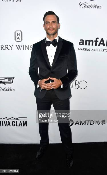 Actor Cheyenne Jackson attends the amfAR Gala at Ron Burkle's Green Acres Estate on October 13 2017 in Beverly Hills California