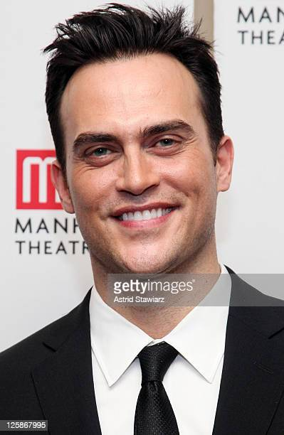 """Actor Cheyenne Jackson attends the Manhattan Theatre Club's 2011 Winter Benefit """"An Intimate Night"""" at The Plaza Hotel on January 24, 2011 in New..."""