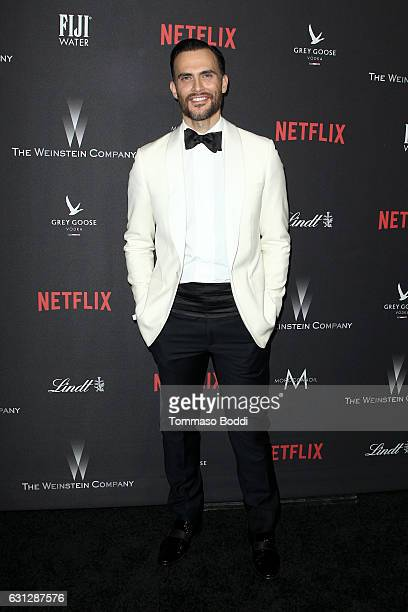 Actor Cheyenne Jackson attends The Weinstein Company and Netflix Golden Globe Party presented with FIJI Water Grey Goose Vodka Lindt Chocolate and...