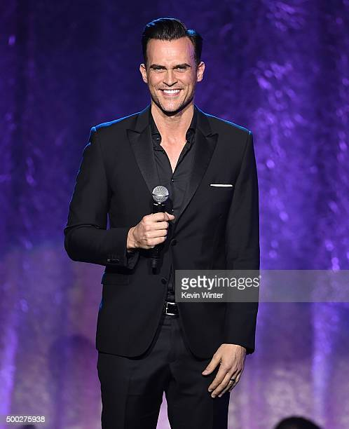 Actor Cheyenne Jackson performs onstage during TrevorLIVE LA 2015 at Hollywood Palladium on December 6 2015 in Los Angeles California