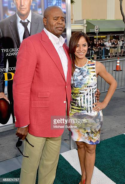 Actor Chi McBride and Julissa McBride attend Premiere Of Summit Entertainment's Draft Day at Regency Bruin Theatre on April 7 2014 in Los Angeles...