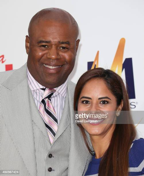 Actor Chi McBride and wife Julissa Marquez attend the premiere of Screen Gems' Think Like a Man Too at the TCL Chinese Theatre on June 9 2014 in...