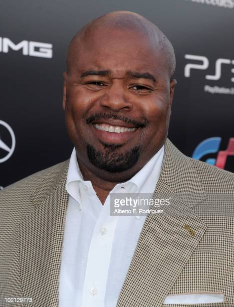 Actor Chi McBride arrives as MercedesBenz celebrates PlayStation 3 Gran Turismo 5 featuring the SLS AMG at SLS Hotel on June 15 2010 in Beverly Hills...