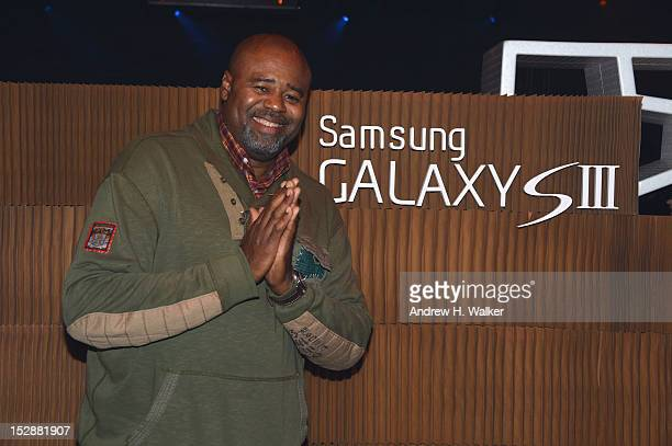 Actor Chi McBride poses for a photo as Lupe Fiasco and Samsung Galaxy S III celebrate the Food Liquor 2 Great American Rap album launch at Cedar Lake...