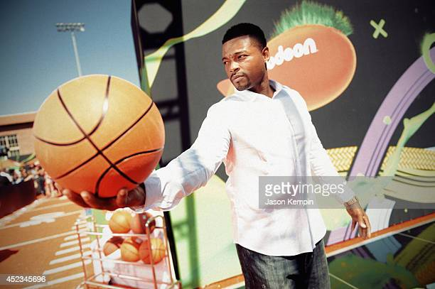 Actor Chico Benymon attends Nickelodeon Kids' Choice Sports Awards 2014 on July 17, 2014 in Los Angeles, California.