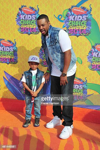 Actor Chico Benymon attends Nickelodeon's 27th Annual Kids' Choice Awards held at USC Galen Center on March 29 2014 in Los Angeles California