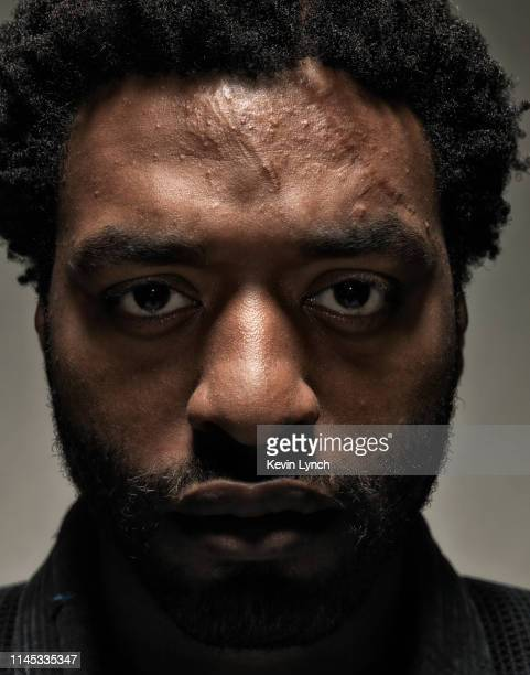"""Actor Chiewtel Edjorfor is photographed on the set of """"Redbelt"""" for Sony Picture Classics on June 4, 2007 in Long Beach, California."""