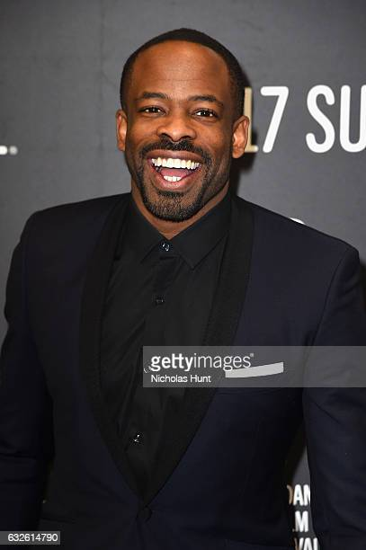 Actor Chike Okonkwo attends the Burning Sands Premiere at Eccles Center Theatre on January 24 2017 in Park City Utah