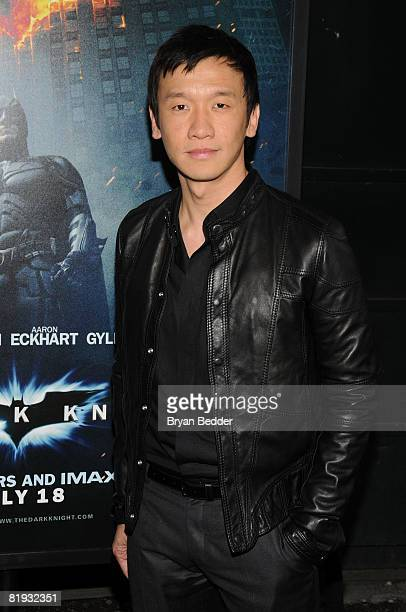 Actor Chin Han arrives at the world premiere of The Dark Knight at AMC Loews Lincoln Square IMAX on July 14 2008 in New York City
