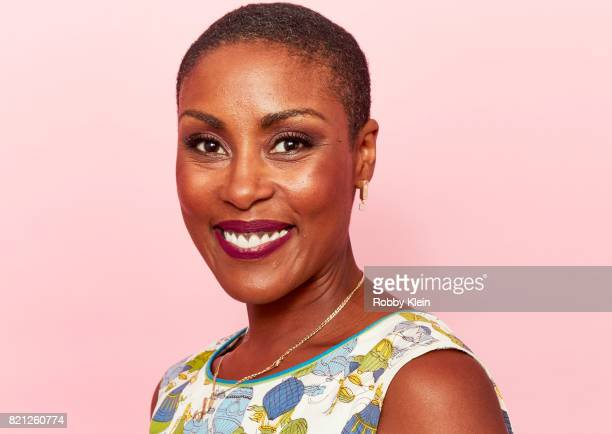 Actor Chistine Adams from CW's 'Black Lightning' poses for a portrait during ComicCon 2017 at Hard Rock Hotel San Diego on July 22 2017 in San Diego...