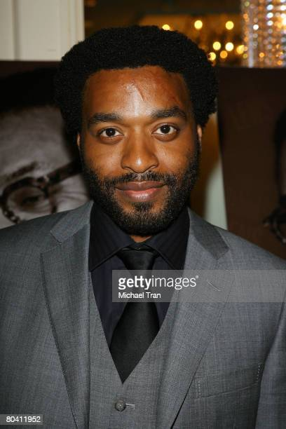 Actor Chiwetel Ejiofor arrives at 6th Annual Behind the Lens Awards honoring Spike Lee held at The Beverly Wilshire Hotel on March 26 2008 in Beverly...
