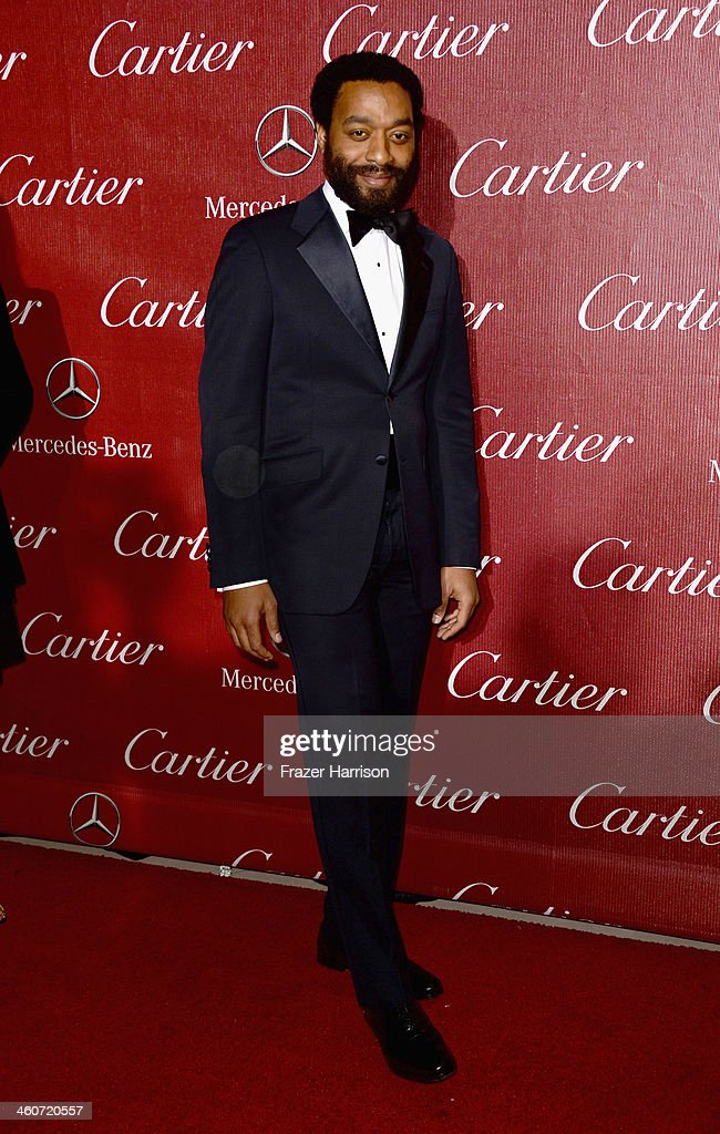Actor Chiwetel Ejiofor arrives at the 25th Annual Palm Springs International Film Festival Awards Gala at Palm Springs Convention Center on January 4, 2014 in Palm Springs, California.