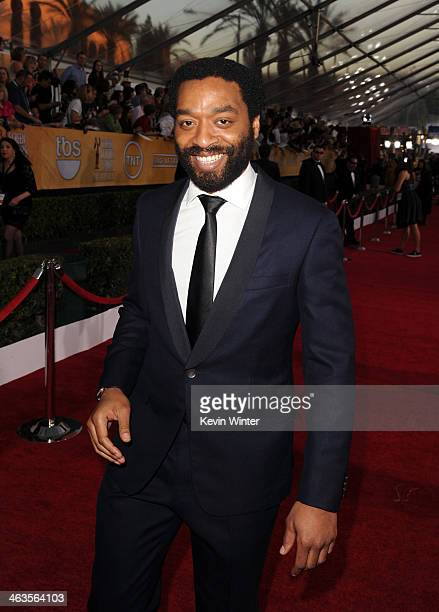 Actor Chiwetel Ejiofor attends 20th Annual Screen Actors Guild Awards at The Shrine Auditorium on January 18 2014 in Los Angeles California