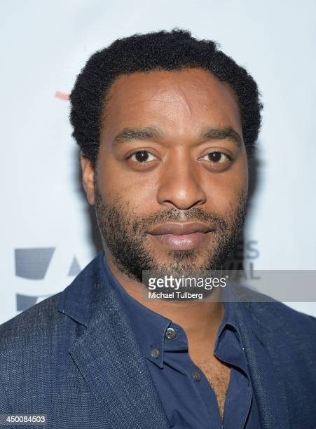 Actor Chiwetel Ejiofor attends a screening of the movie '12 Years A Slave' at AARP's Movies For Grownups Film Festival 2013 at Regal Cinemas LA Live...